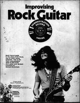 Pat Thrall – Improvising Rock Guitar Vol. 1