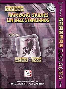 Mimi Fox - Guitar Arpeggio Studies On Jazz Standards