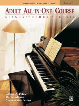 Alfred Basic Adult Piano Course Lev. 1