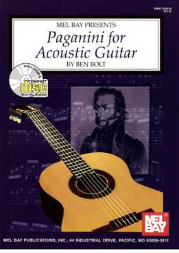 Ben Bolt - Paganini For Acoustic Guitar