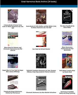 Great Harmonica Books Archive