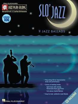 Jazz Play-Along Vol. 106 – Slo' Jazz