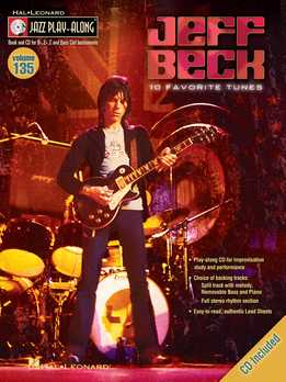 Jazz Play-Along Vol. 135 – Jeff Beck