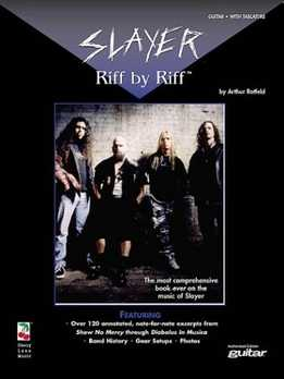 Arthur Rotfeld - Slayer Riff By Riff