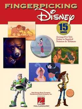 Fingerpicking Disney - 15 Songs