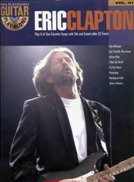 Guitar Play-Along Vol. 41 - Eric Clapton