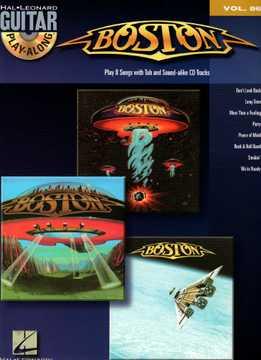 Guitar Play Along Vol. 86 - Boston