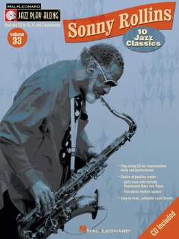 Jazz Play-Along Vol. 33 - Sonny Rollins