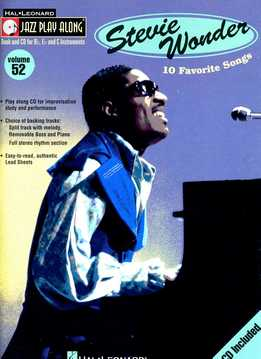 Jazz Play-Along Vol. 52 – Stevie Wonder