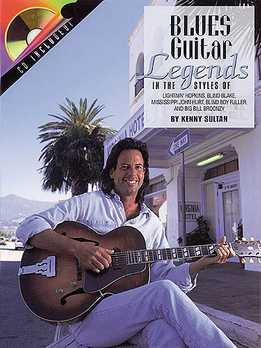 Kenny Sultan - Blues Guitar Legends Book