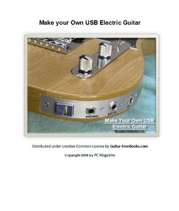 Make Your Own USB Electric Guitar