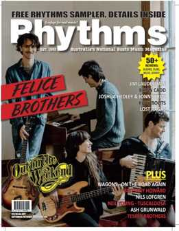 Rhythms Magazine - September-October 2019