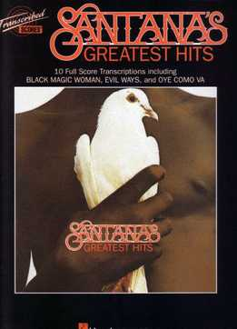 Santana's Greatest Hits (Full Band Score)