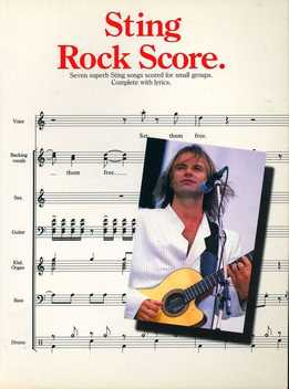 Sting - Rock Score (Full Band Score)