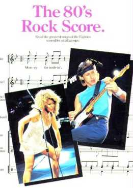 The 80s Rock Score (Full Band Score)