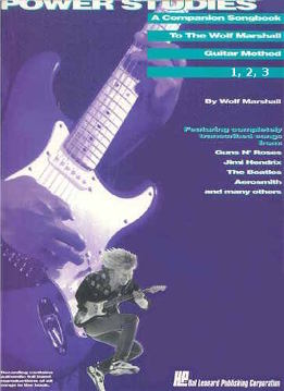 The Wolf Marshall Guitar Method - Power Studies Vol. 1, 2, 3