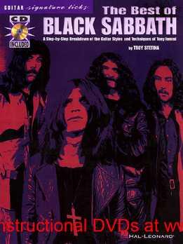 Troy Stetina - The Best Of Black Sabbath - Guitar Signature Licks