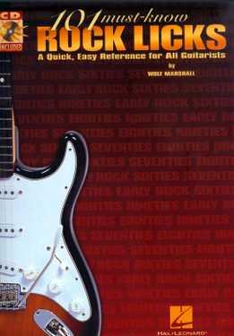 Wolf Marshall - 101 Must Know Rock Licks