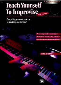 Bert Konowitz - Teach Yourself To Improvise At The Keyboard