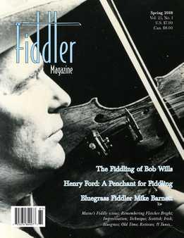 Fiddler - Spring 2018