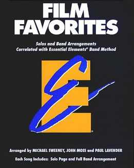 Film Favorites - Essential Elements - Music For saxophone (Eb,Bb)