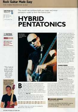 Jamie Hamphries – Rock Guitar Made Easy – Lesson 11 – Hybrid Pentatonics