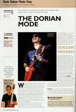 Jamie Hamphries – Rock Guitar Made Easy – Lesson 16 – Dorian Mode