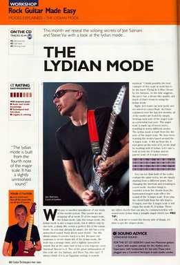 Jamie Hamphries – Rock Guitar Made Easy – Lesson 18 – Lydian Mode