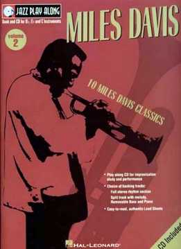 Jazz Play-Along Vol. 02 - Miles Davis
