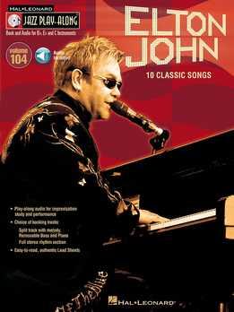 Jazz Play-Along Vol. 104 - Elton John