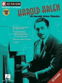 Jazz Play-Along Vol. 18 - Harold Arlen