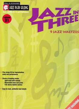 Jazz Play-Along Vol. 31 - Jazz In Three