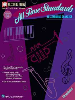 Jazz Play-Along Vol. 34 - All Time Standards