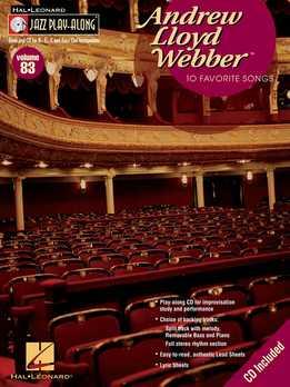 Jazz Play-Along Vol. 83 - Andrew Lloyd Webber