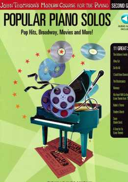 John Thompson - Popular Piano Solos - Pop Hits, Broadway, Movies And More