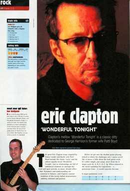 Lee Hodgson - Eric Clapton - Wonderful Tonight