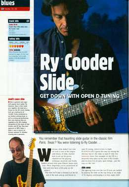 Snail's Pace Slim - Ry Cooder - Slide