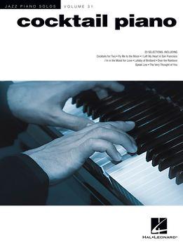 Jazz Piano Solos Vol. 31 - Cocktail Piano