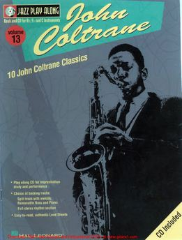 Jazz Play-Along Vol. 13 - John Coltrane