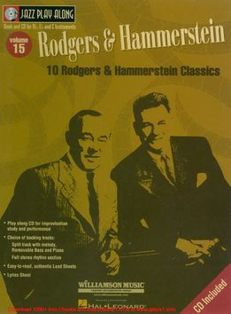 Jazz Play-Along Vol. 15 - Rodgers & Hammerstein