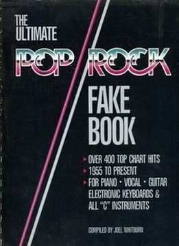 Joel Whitburn - The Ultimate Pop Rock Fake Book