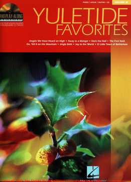 Piano Play-Along Vol.13 - Yuletide Favorites