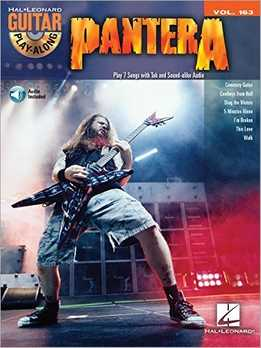 Guitar Play-Along 163 - Pantera