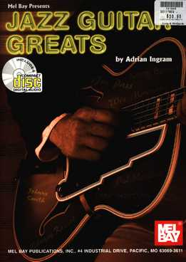Adrian Ingram - Jazz Guitar Greats