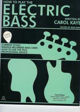 Carol Kaye - How To Play Electric Bass