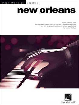 Jazz Piano Solos Vol. 21 - New Orleans