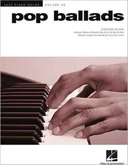 Jazz Piano Solos Vol. 56 - Pop Ballads