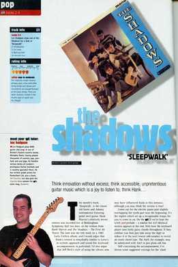 Lee Hodgson - The Shadows - Sleepwalk
