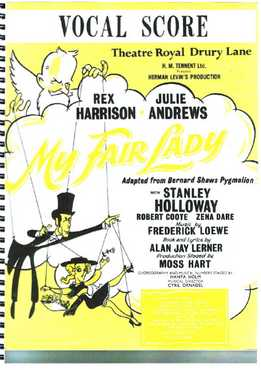 Alan Jay Lerner, Frederick Loewe, Dan Coates - My Fair Lady