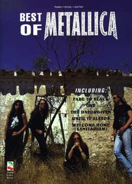 Best Of Metallica - Songbook